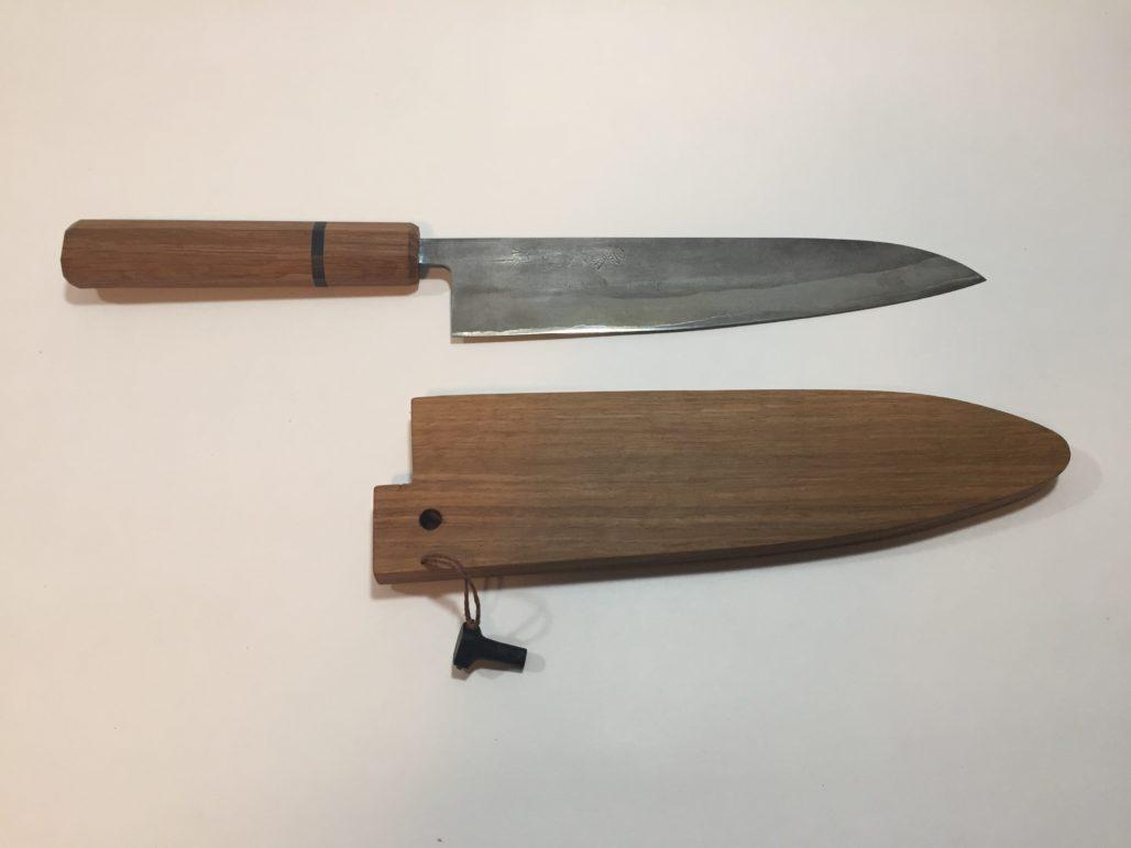 Rehandle a Japanese Chef Knife