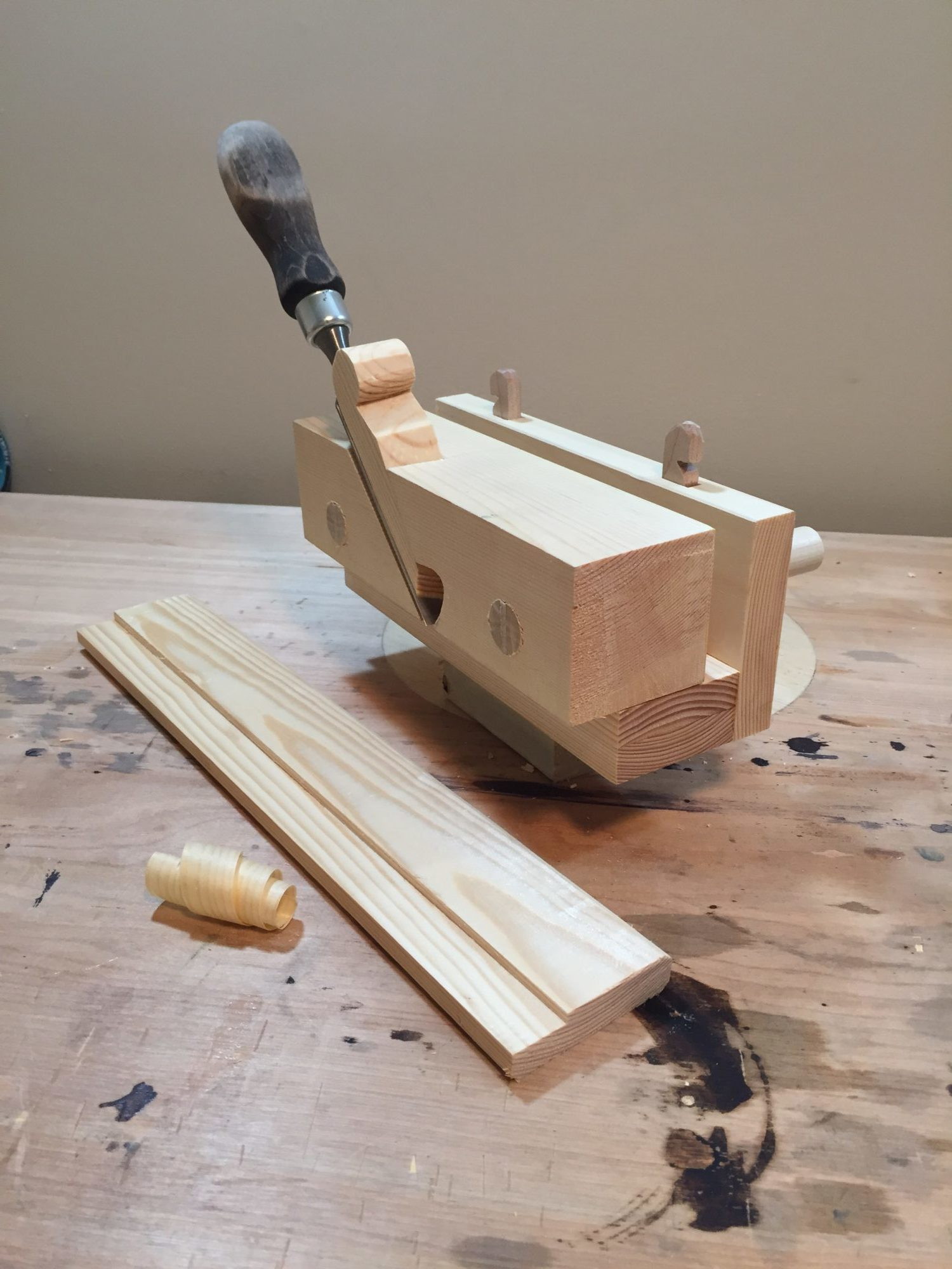 Adjustable Rebate Plane