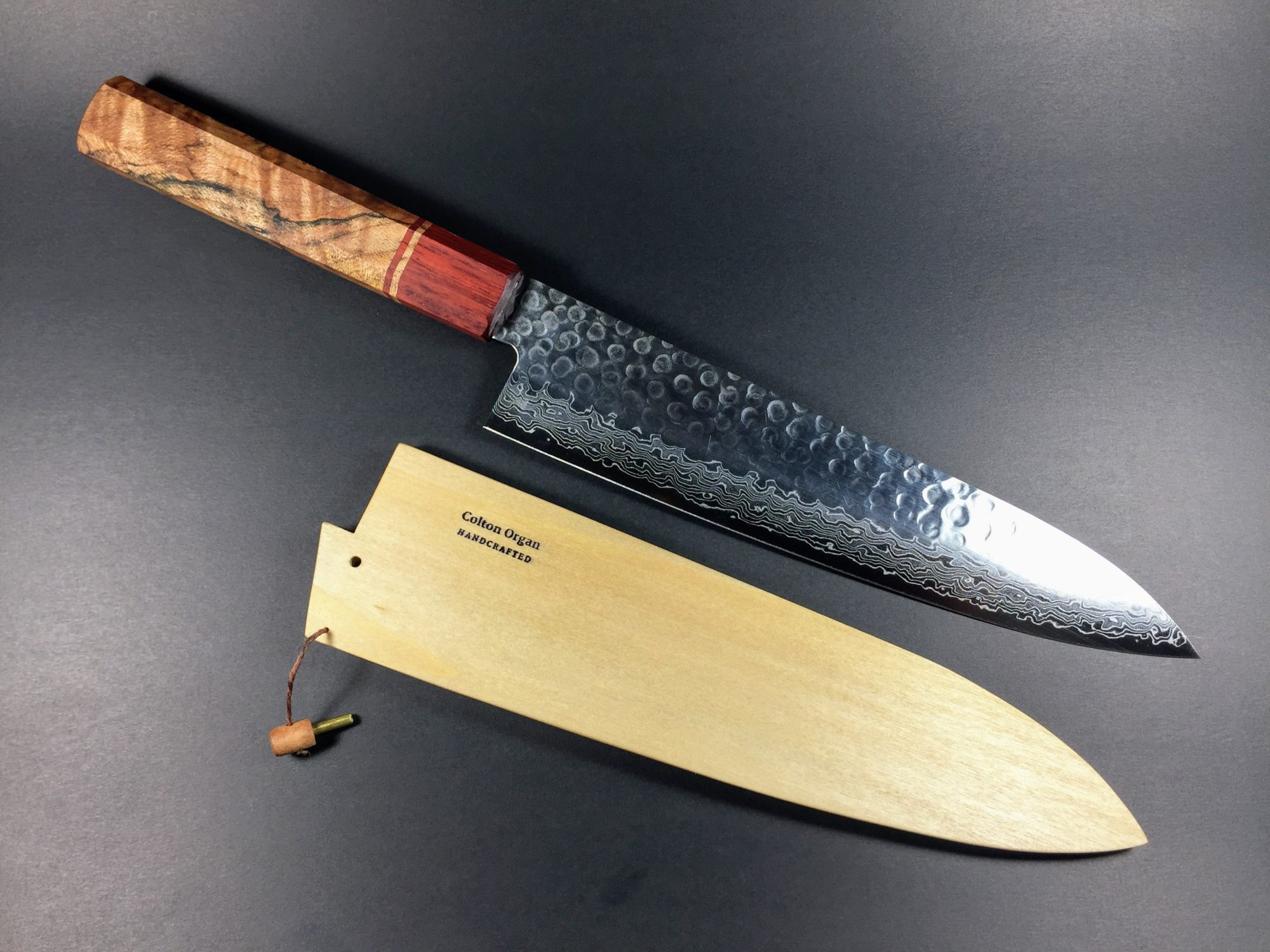 wa-handle gyuto by Colton Organ